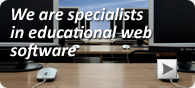 we are specialists in educational software